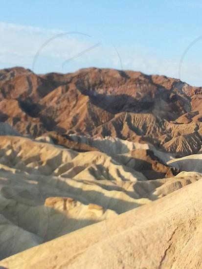 Death Valley sunrise  photo