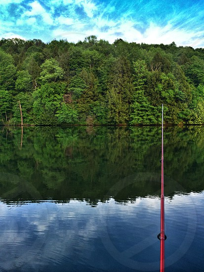 Some summer breeze rolling through the day while fishing.   photo