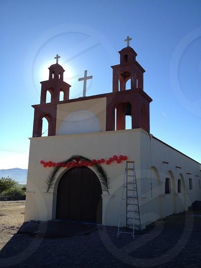 Mexican Town Church  photo