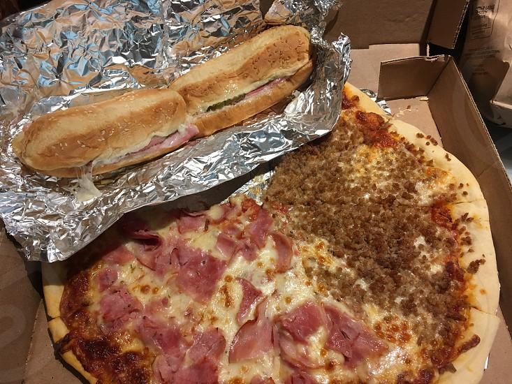 Pizza king Longview TX pizza sub sandwich local food photo