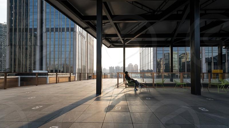 Architecture around Shanghai photo