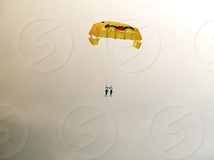 2 people paragliding photo