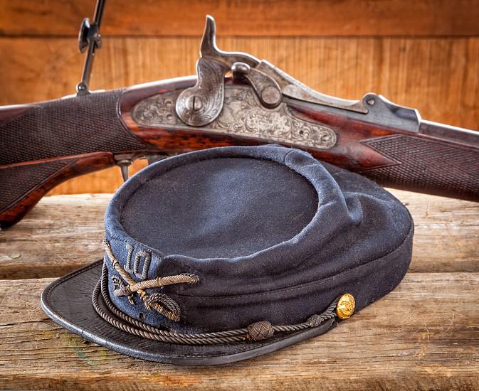 Civil war cap. photo