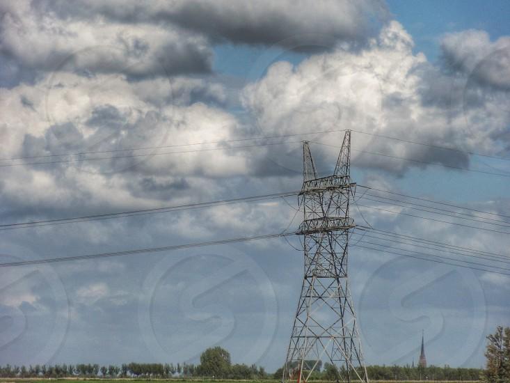 utility pole photo