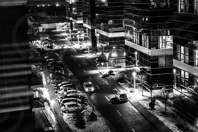 Night in Bucharest photo