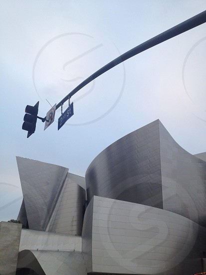 Walt Disney Concert Hall. Frank Gehry Architect Los Angeles photo