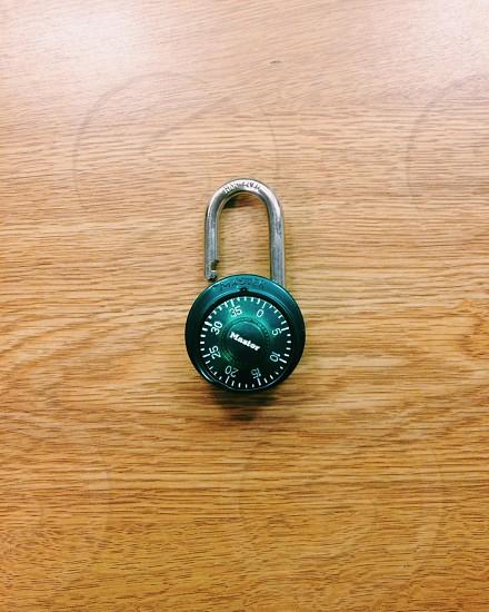green lock photo