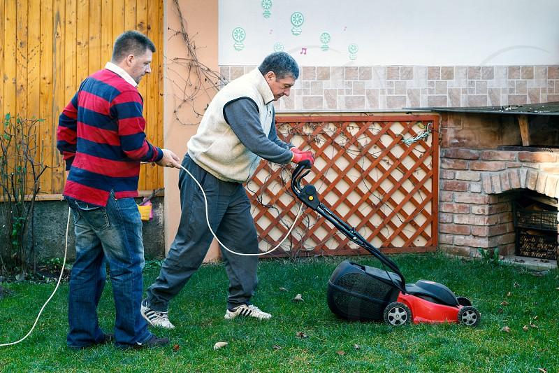 Helping a Neighbour photo