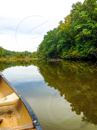 Lake View on a Canoe  photo