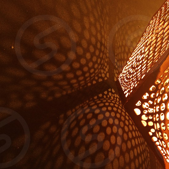 Pattern patterns light geometric shapes circles photo