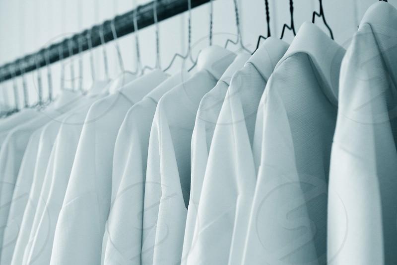 Organized wardrobe photo