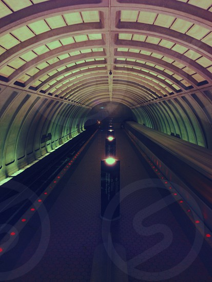 subway tunnel photo