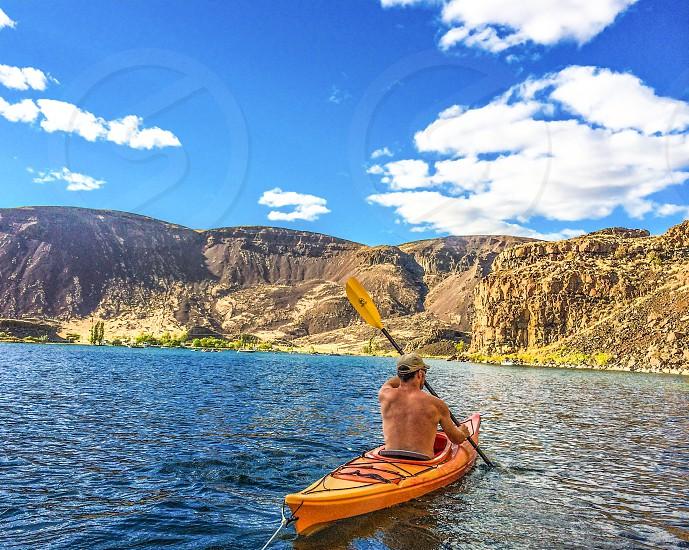 Kayaking.  photo