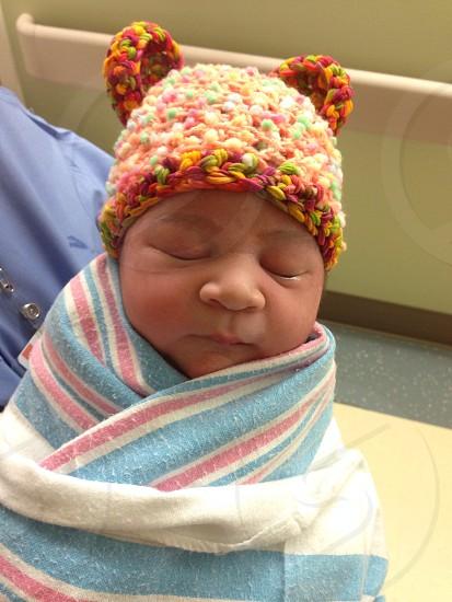 Baby hats photo