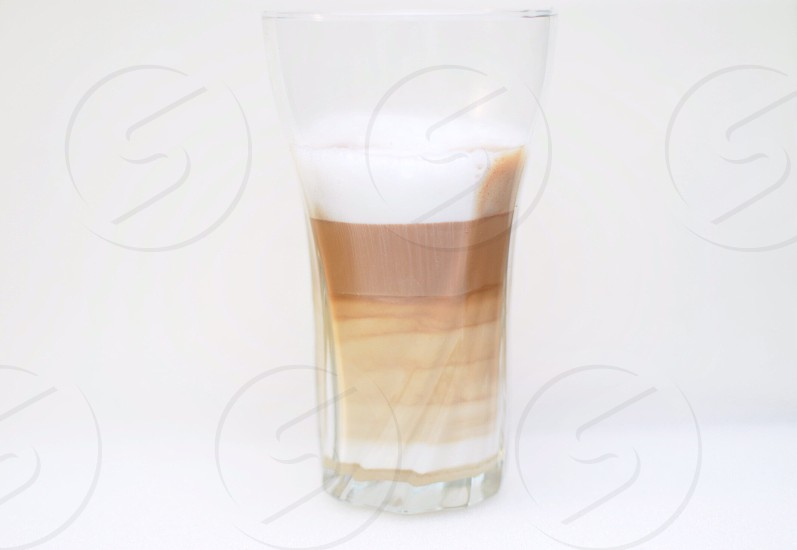 drink in a glass photo