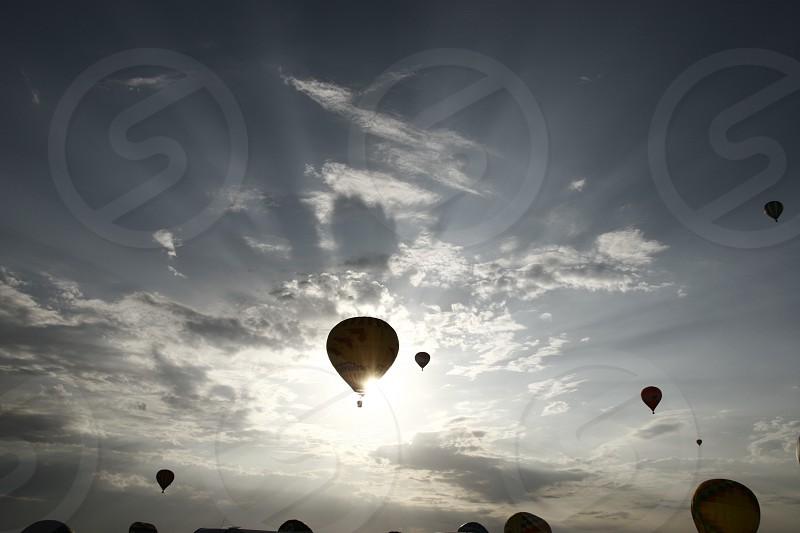 Montgolfière photo