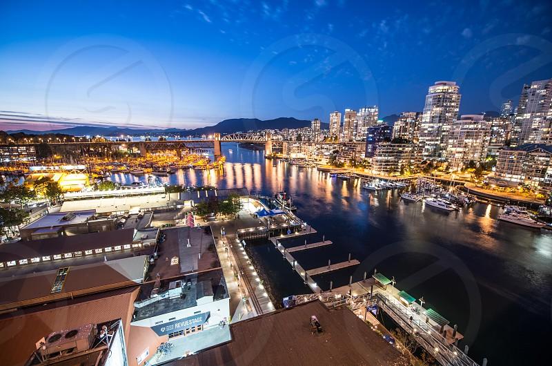 Granville Island Market Vancouver BC photo