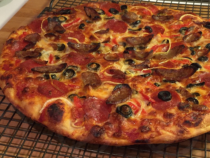 Pizza food Italian Food cooking photo