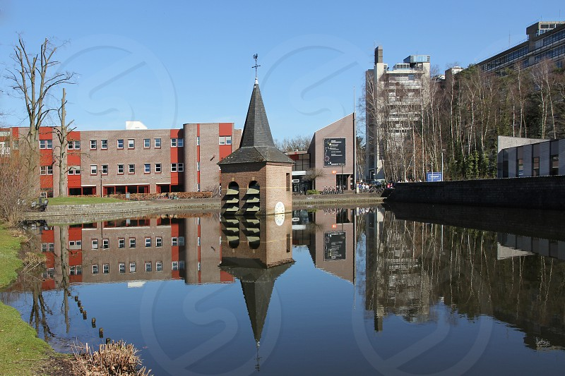 Drowned Bell Tower at the University of Twente photo