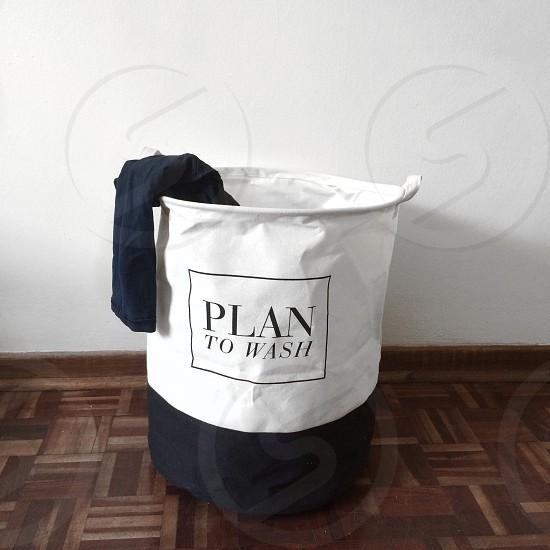 Plan to wash laundry photo