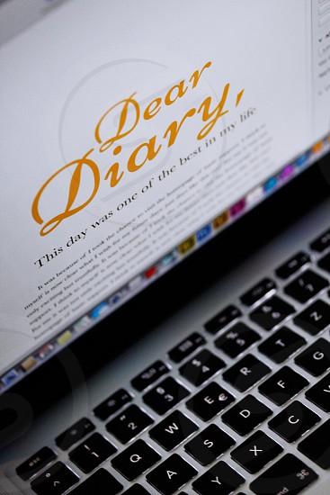 Dear Diary photo