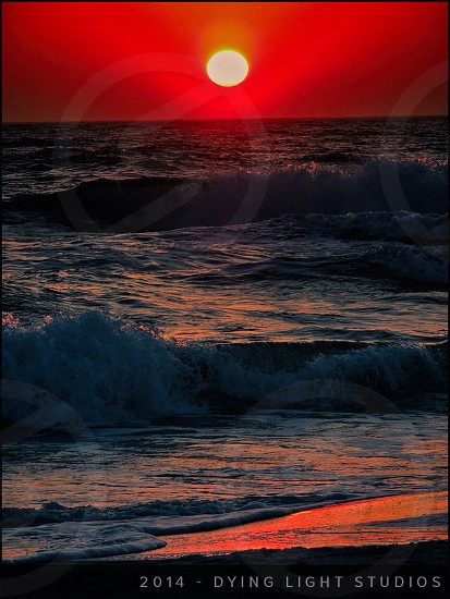 Sunset Panama City Beach Florida photo