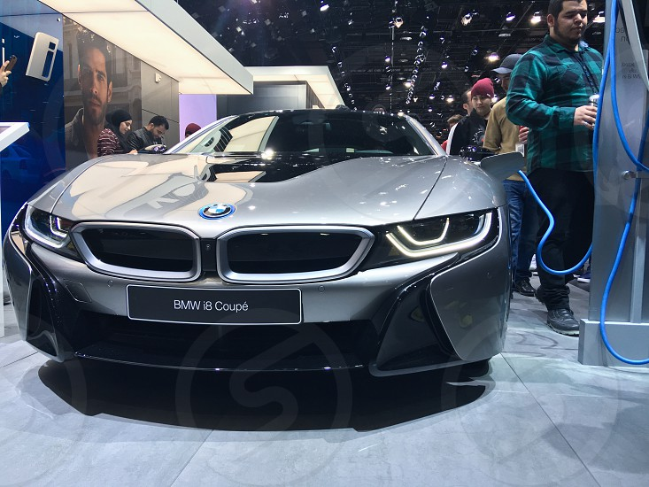 Detroit Auto Show BMW i8 Electric Cars photo