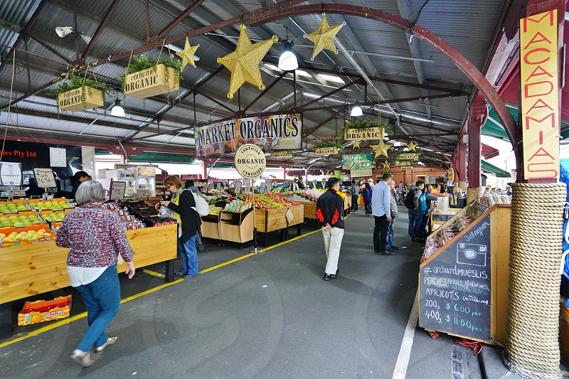 Queen Victoria Market - Melbourne Australia photo