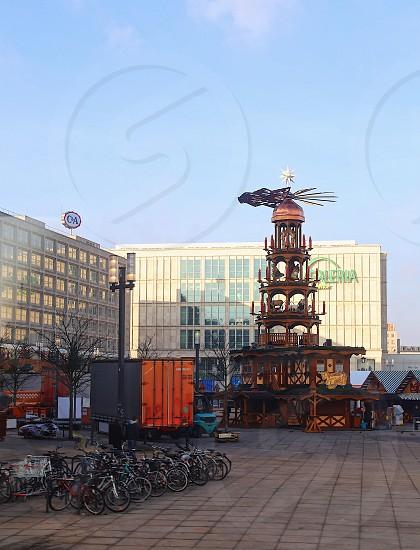 Berlin Alexanderplatz  Germany  sightseeing   photo