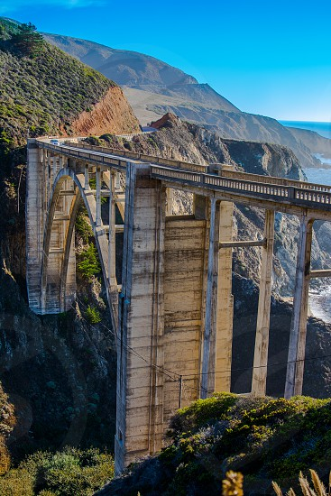 Bixby Bridge hard to believe this masterpiece was built in 1932!  photo