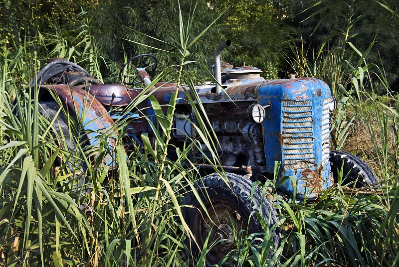 An Old Tractor. photo