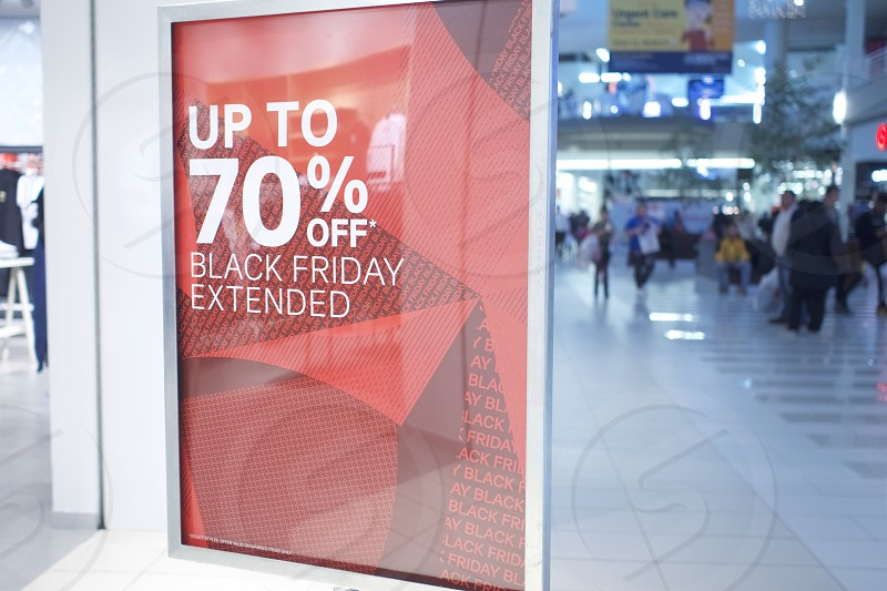 Mall Black Friday photo