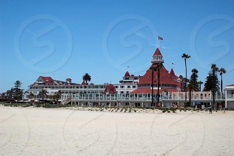 The Hotel Del Coronado located in Coronado California near San Diego photo