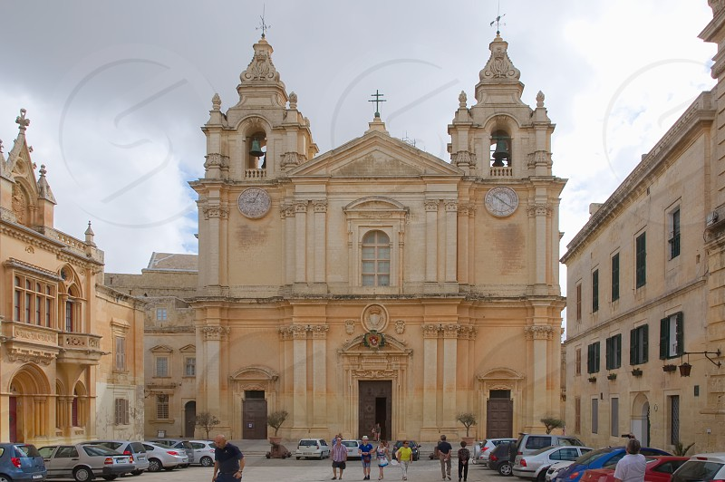 St. Pauls Cathedral Mdina - Medina - Malta photo