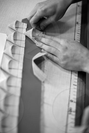 Sewing process photo