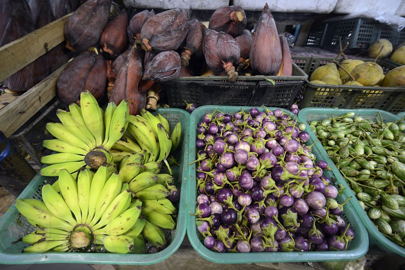 fegetable at the day Market in the city of Phuket on the Phuket Island in the south of Thailand in Southeastasia. photo