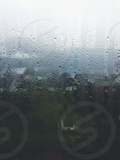 condensation on window photo