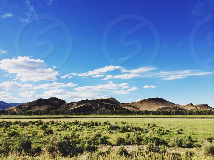 Along a Colorado open road. photo