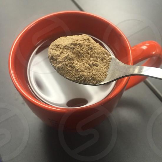 Maca nutrition coffee beverages health winter warm tea herbal photo