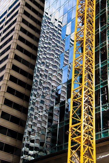 construction in San Francisco financial district photo