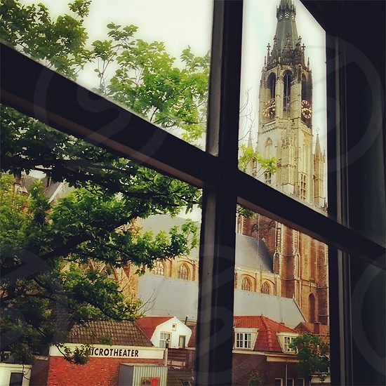 Window to Delft Holland photo