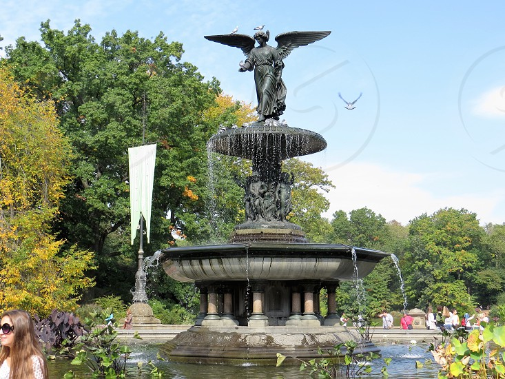 Bethesda Fountain and Terrace Central Park NYC  photo