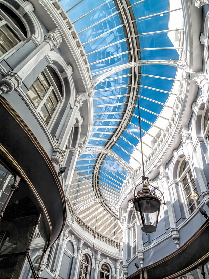 Morgan arcade glass roof in Cardiff photo