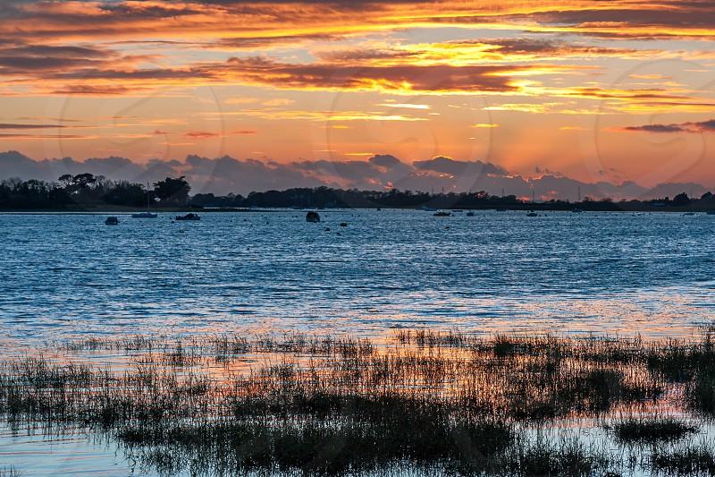 Stunning Sunset at Bosham photo