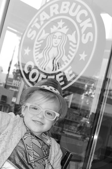 My little Starbucks model photo