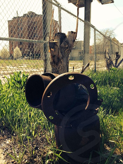 Abandoned fire hydrant  photo