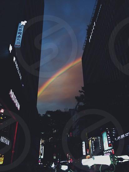 Rainbow over Seoul. photo