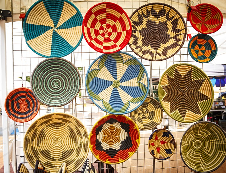 Pattern - African Baskets photo