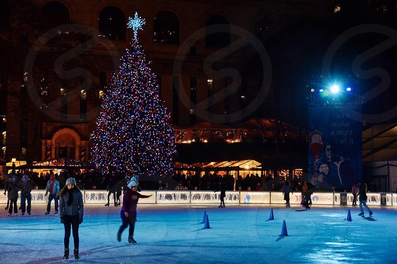 Christmas at Bryant Park photo