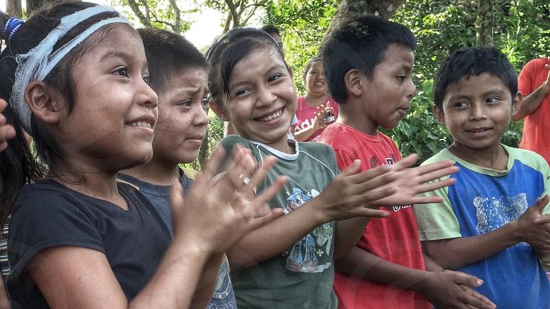 Happy children. photo